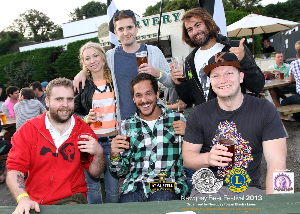 Newquay Beer Festival to return in 2014!