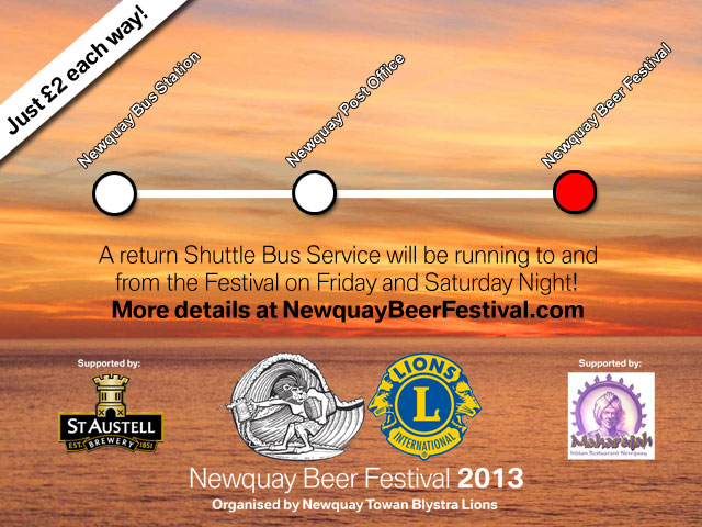 Great value bus shuttle service from town announced!