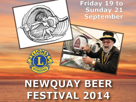 Newquay Beer Festival Programme released